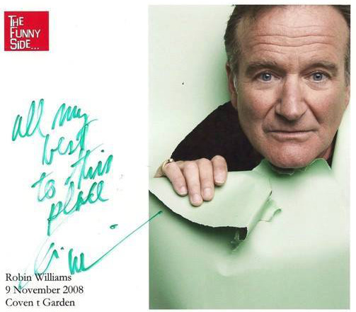 Robin William's Signature